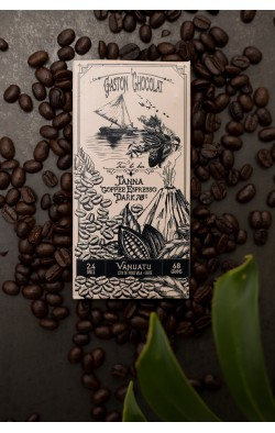 Gaston Chocolat Tanna Coffee Espresso 70% (68gm)