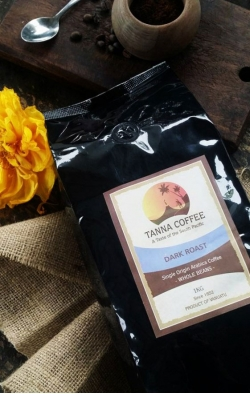 Dark Roast Coffee (1kg) Ground